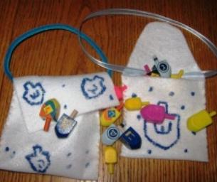 Dreidel Bags Craft