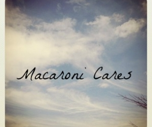 Macaroni Cares: Sending Support to Newtown, CT