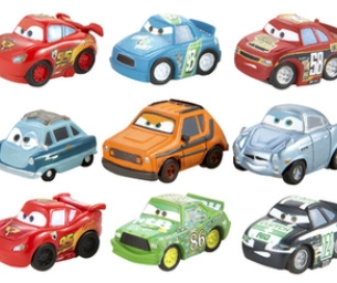 Cars Micros Drifters Trackset & Vehicle Assortment