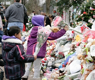 Children Helping Sandy Hook Students