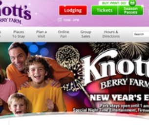 SPEND NEW YEARS AT KNOTT'S