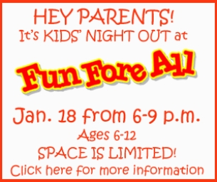 Kids' Night Out at Fun Fore All!