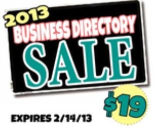Join Our Business Directory For $19