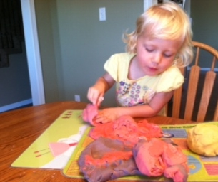 Make Homemade Kool-Aid® Play Dough