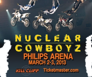 Win 4 Tickets to Nuclear Cowboyz at Philips Arena!