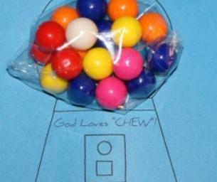 Bubble Gum Valentine's