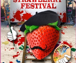 WIN 4 TIX to the Strawberry Festival