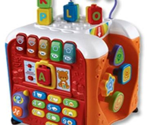Win an Alphabet Activity Cube from VTech