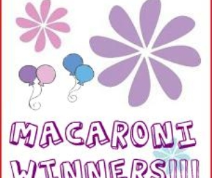 Congratulations Macaroni Winners!