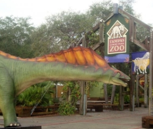 WIN 4 TIXs to DinoQuest 2 @ Lowry Park Zoo