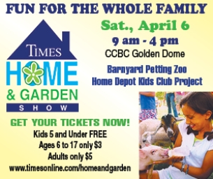 Home and Garden Show on April 6!