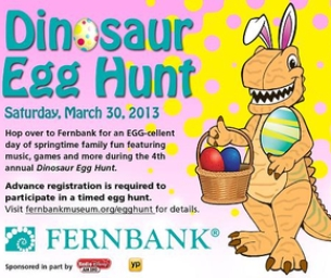 GIVEAWAY: Family 4 Pack Fernbank's Dino Egg Hunt