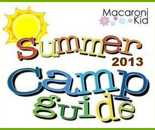 Welcome to the 2013 Summer Camp Guide