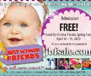 Just Between Friends - Central Florida Spring Sale