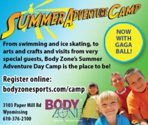 Body Zone Summer Camps