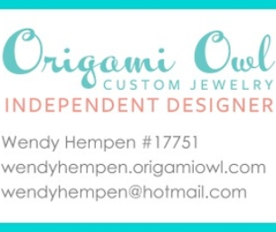 Origami Owl - Wendy Hempen, Designer