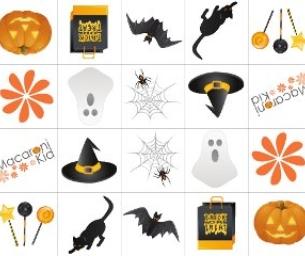 Halloween Macaroni Kid Memory Game