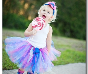 WIN This Tutu With Matching Headband!