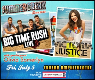 Giveaway: Big Time Rush with Victoria Justice