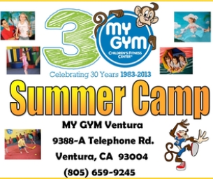 SUMMER CAMPS AT MY GYM VENTURA