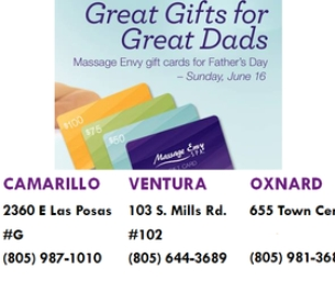 MASSAGE ENVY THE PERFECT GIFT THIS FATHERS DAY