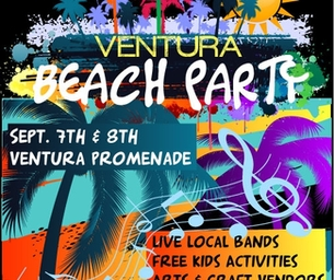 VENTURA BEACH PARTY SEEKS VENDORS
