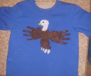 Macaroni Craft: Eagle Shirt