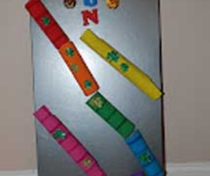 Macaroni Made: Paper Towel Tube Marble Run