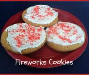 Macaroni Menu: Fireworks Cookies