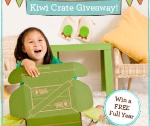Giveaway!!  Win a full year of Kiwi Crate!
