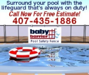 Baby Barrier Pool Safety Fence of Central Florida