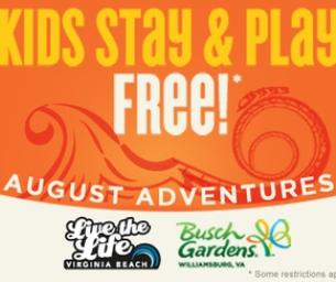 Virginia Beach and Busch Gardens®: Kids Stay Free