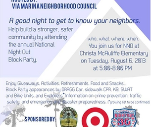 CELEBRATE NATIONAL NIGHT OUT ON TUESDAY IN OXNARD