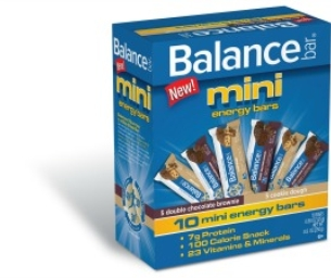 Balance Bar mini energy bars - NEW!