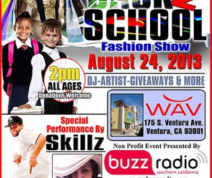 BACK 2 SCHOOL FASHION SHOW ON SATURDAY AUGUST 24