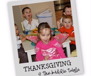 Thanksgiving at the Kiddie Table
