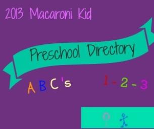 2013 Preschool Directory!