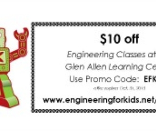 Welcome Engineering for Kids ~ Central Virginia