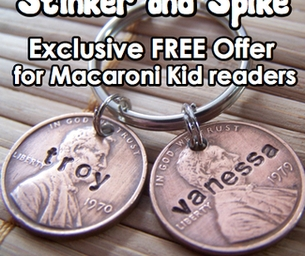 Stinker and Spike Exclusive Macaroni Kid Offer
