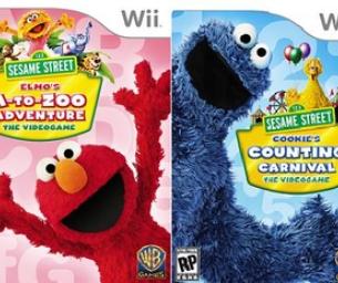 Sesame Street Video Games