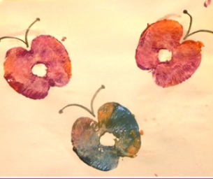 Apple Butterfly Craft