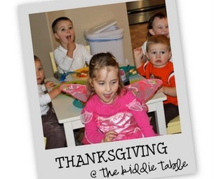 Thanksgiving at the Kidddie Table