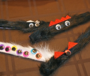 Fur Covered and Fun Slap Bracelets