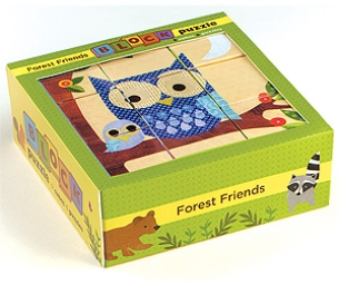 Forest Friends Block Puzzle by Mudpuppy