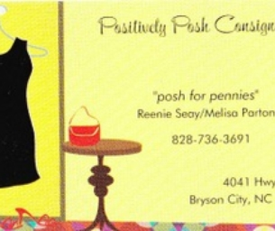 POSITIVELY POSH CONSIGNMENT~POSH FOR PENNIES!!