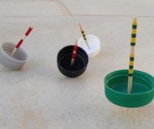 Easy Handmade Spinning Tops