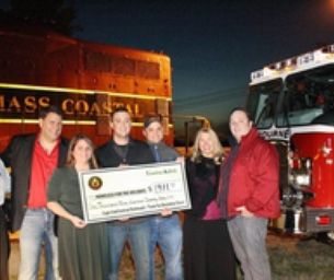 Cape Cod Central Railroad Gives Back