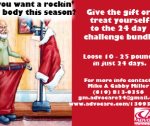 TRY ADVOCARE'S 24 DAY CHALLENGE WITH GABRIELLE!!!
