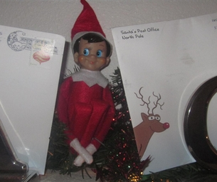 Elf on the Shelf...the mischief is on!