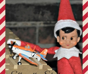 Elf on a Shelf Adventures 2013